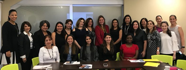 Alcogal associates participate in mentoring program for WIP Panama